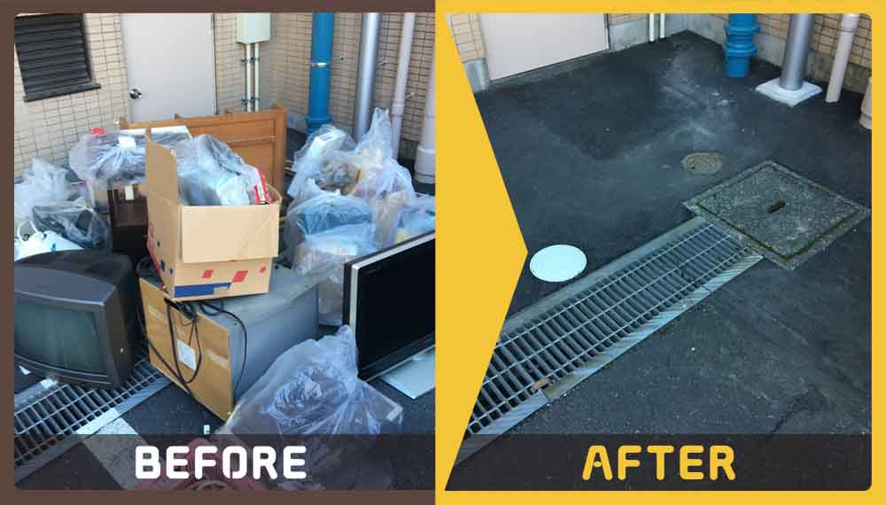 3LDKのマンションのお部屋にある大量の不用品の処理にお困りのお客様からご依頼いただきました。