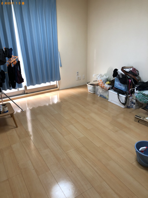 全部屋の床、水回り、浴室などのハウスクリーニングを希望