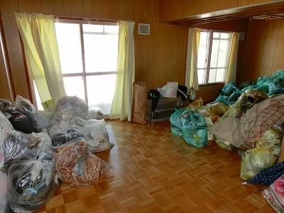【砂川市】ゴミ屋敷が1時間ですっきり片付いた!スピーディーな作業で、御満足頂くことができました!