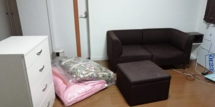 旭川市近文町でソファー、テーブルなど引っ越しに伴う不要品回収 施工事例紹介