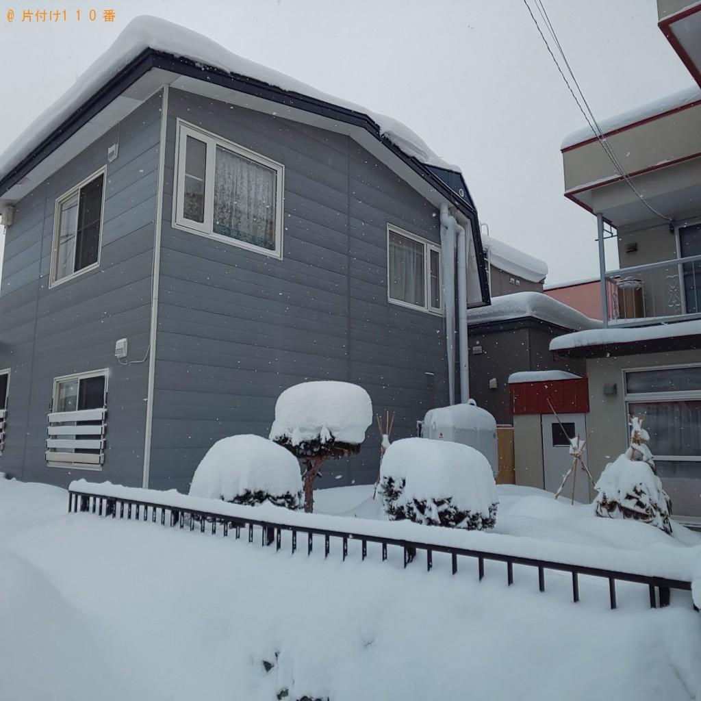 【札幌市西区】2階部分にあるツララ落としご依頼 お客様の声