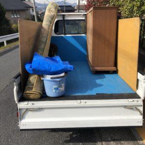 【札幌市】軽トラック1台程度の出張不用品の回収・処分ご依頼