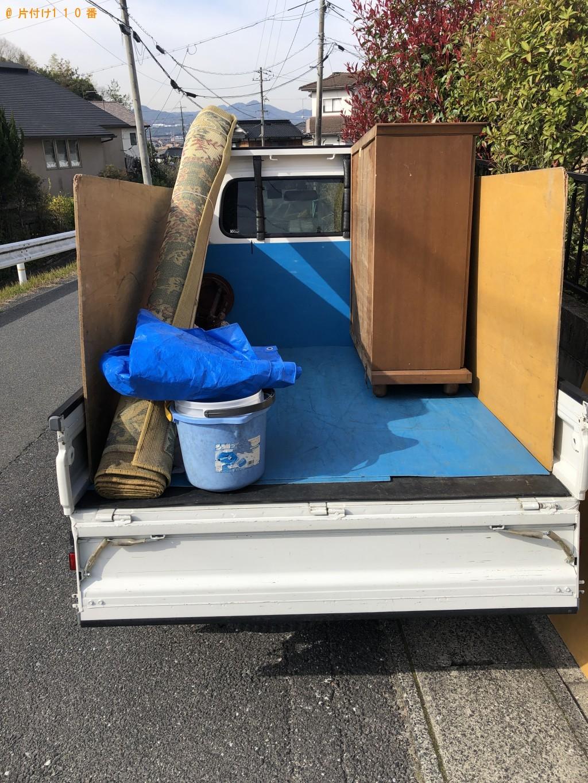 【中標津町】軽トラック1台程度の出張不用品の回収・処分ご依頼