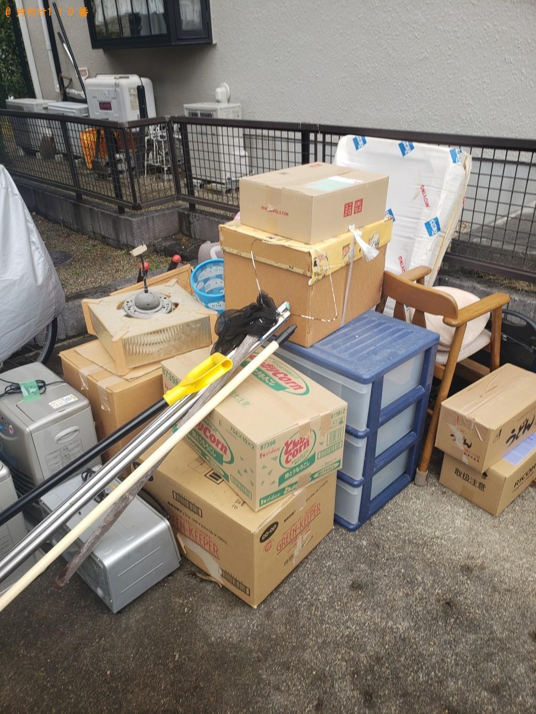 【札幌市】プラスチックの三段ボックス、椅子等の回収・処分ご依頼