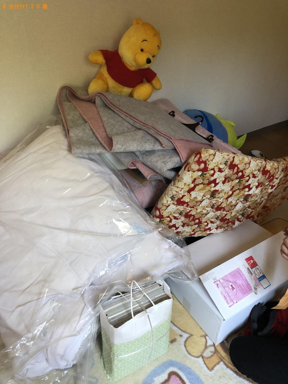 【江別市上江別東町】衣装ケース、ペット用品、布団の回収・処分
