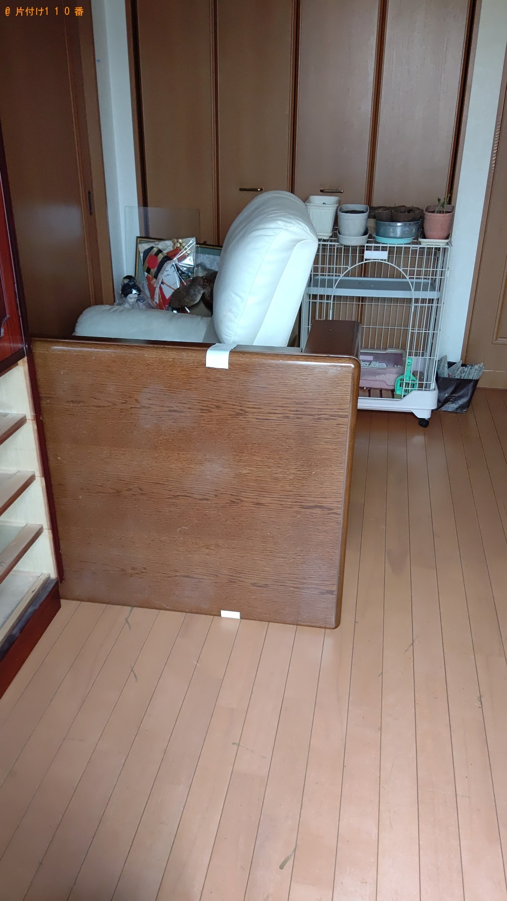 【札幌市】タンス、食器棚、ガラステーブル、椅子の回収・処分