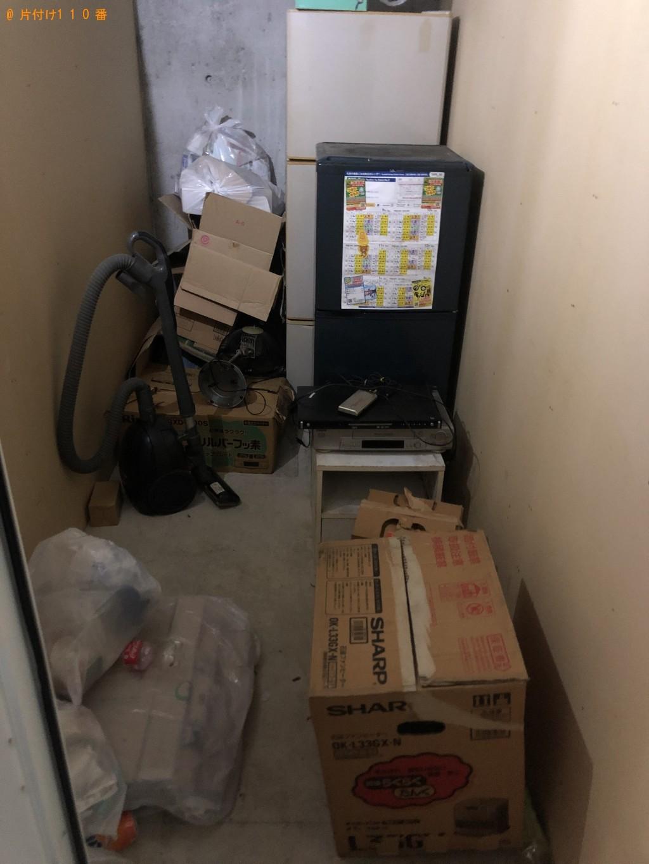 【幕別町】冷蔵庫、本棚、ガスコンロなどの回収・処分