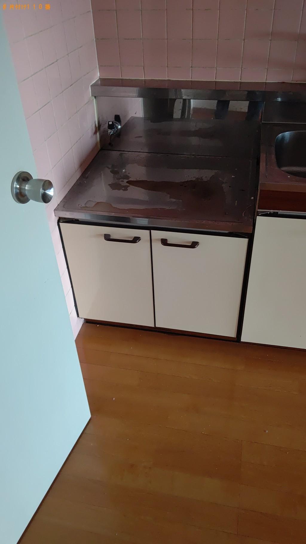 【札幌市豊平区】冷蔵庫、洗濯機、ガスコンロの回収・処分ご依頼
