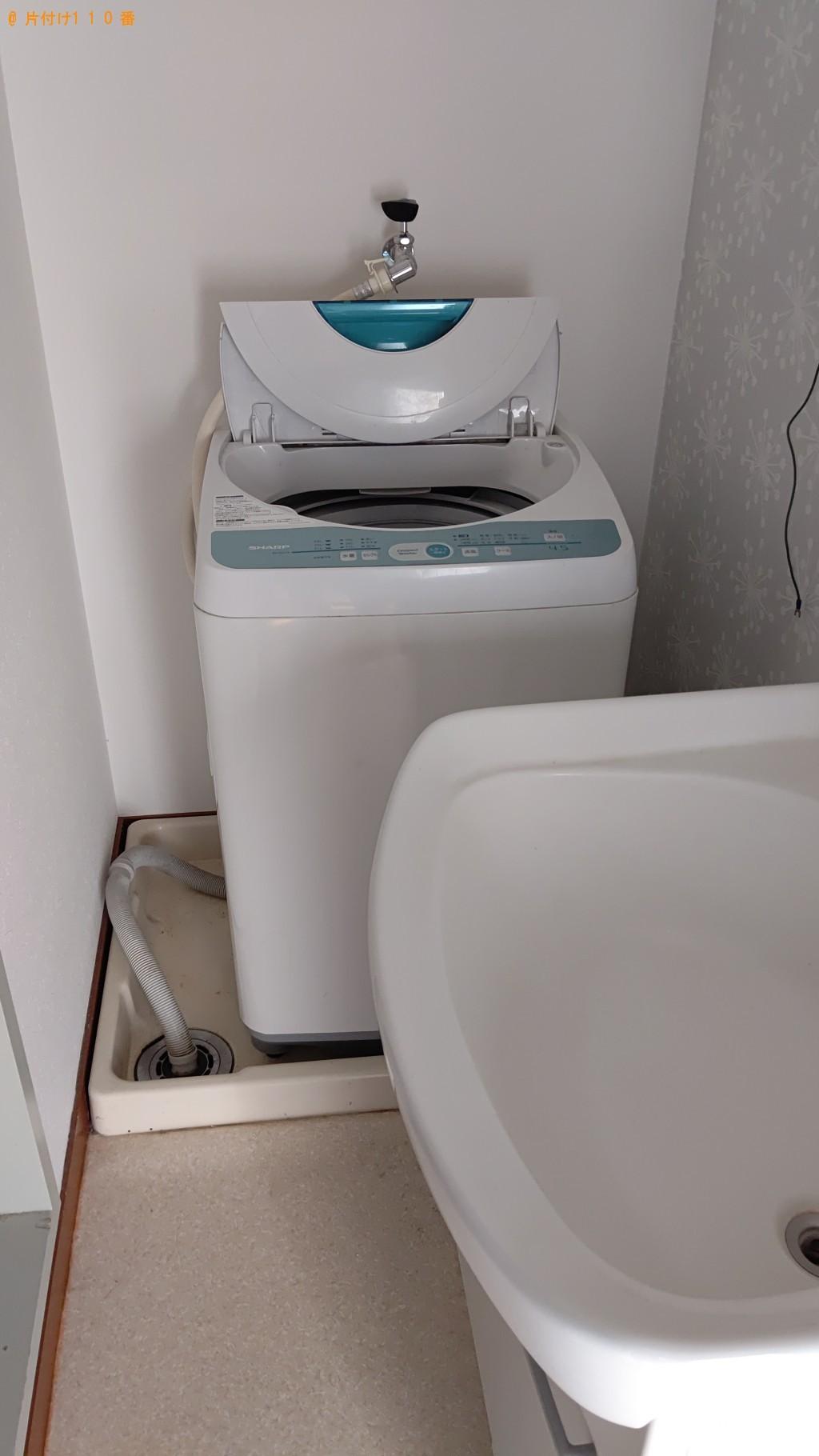 【名寄市】冷蔵庫、洗濯機、ガスコンロの回収・処分ご依頼