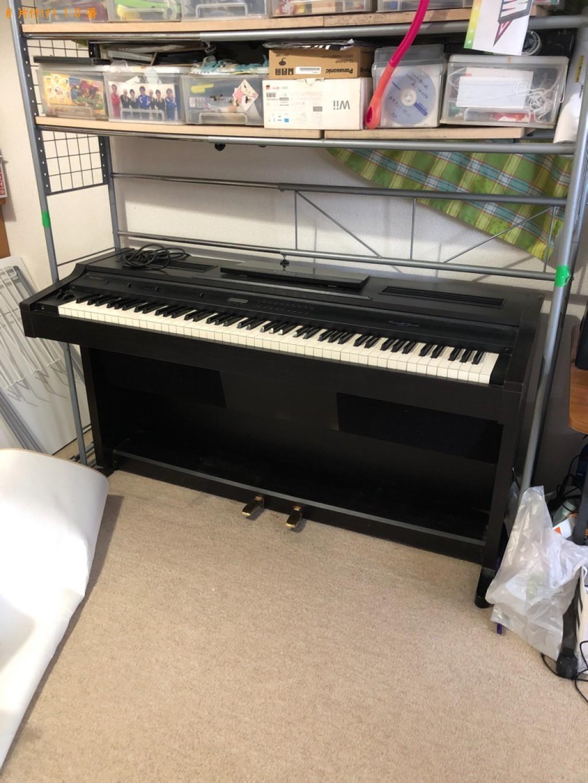 【名寄市】電子ピアノの回収・処分ご依頼 お客様の声