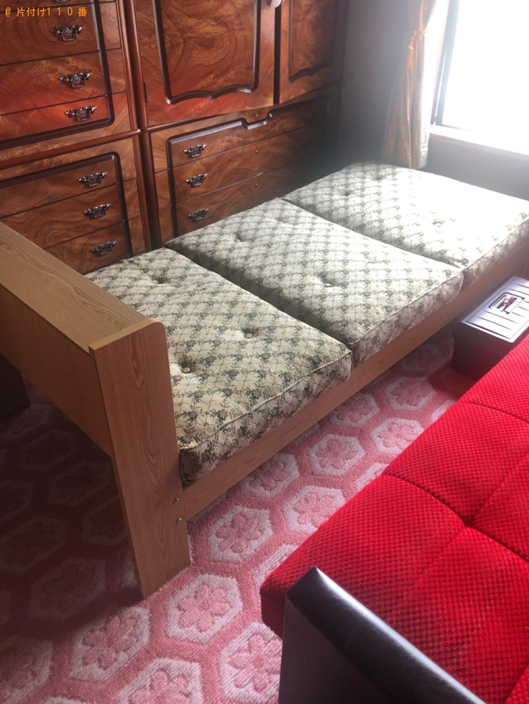 【札幌市清田区】カセットテープの回収、ベッドの組み立てご依頼