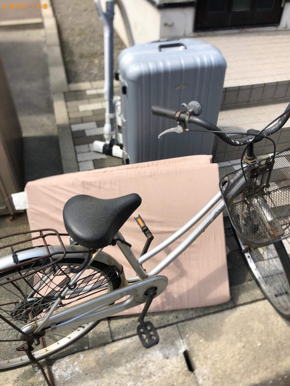 【石狩市】遺品整理に伴い掃除機、ウレタンマットレス、自転車等の回収・処分ご依頼