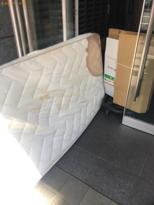【北斗市】シングルベッドマットレス、座椅子の回収・処分ご依頼