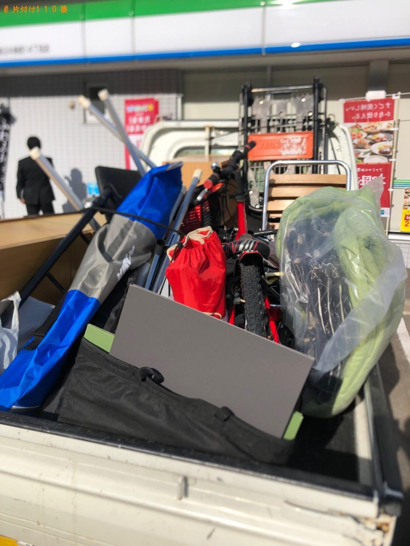 【北見市】食器棚、カラーボックス、PCデスク等の回収・処分