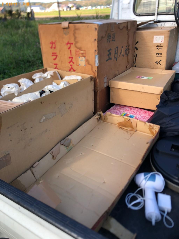 【石狩郡当別町】五月人形、雛人形5段飾りの回収・処分ご依頼