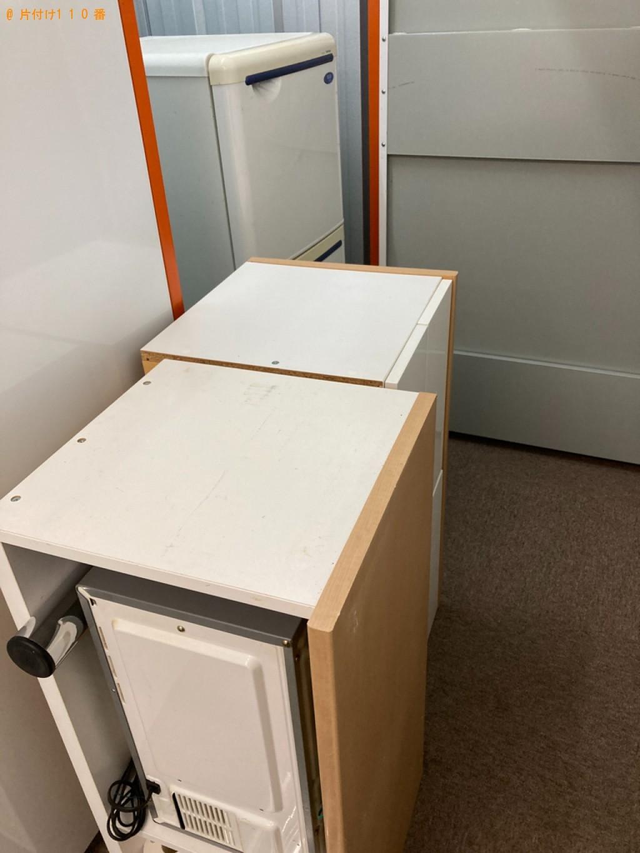 【札幌市白石区】冷蔵庫、タンス、食器、小物等の回収・処分ご依頼