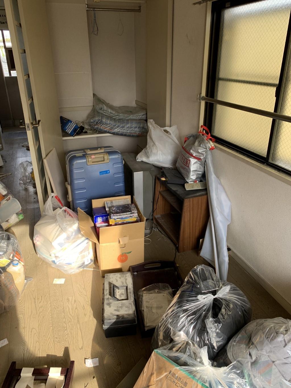 【北広島市】遺品整理に伴い不用品処分とハウスクリーニングご依頼 お客様の声