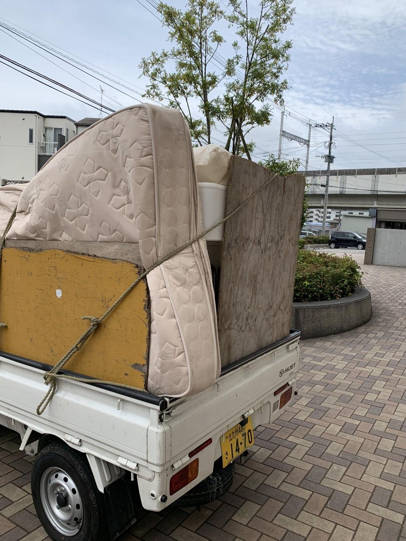 【恵庭市】遺品整理に伴い2トン車1台程度の処分と一部荷物の移動のご依頼