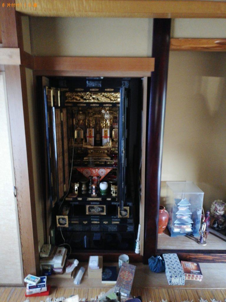 【伊達市】仏壇の回収・処分ご依頼ご依頼 お客様の声