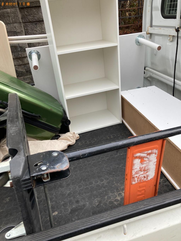【札幌市豊平区】スタンドミラー、カラーボックス等の回収・処分