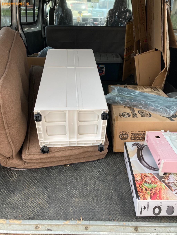 ソファーベッド、ホットプレート、ゴミ箱等の回収
