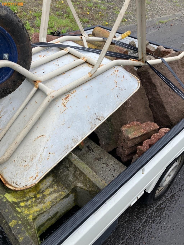【苫小牧市はまなす町】庭石の回収・処分と木の伐採ご依頼