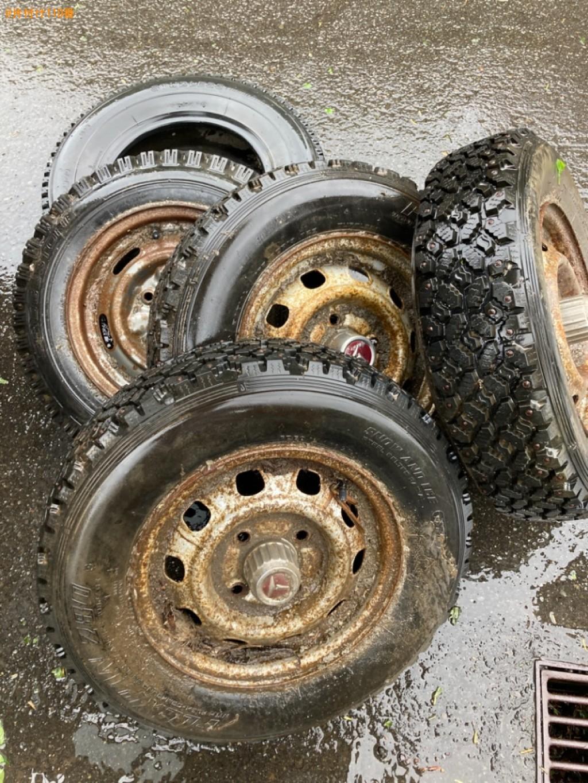 【札幌市東区】自動車タイヤの回収・処分ご依頼 お客様の声