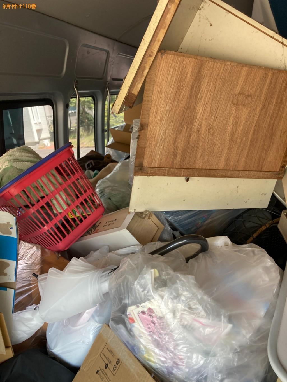 【札幌市清田区】扇風機、ゴルフバッグ、スーツケース等の回収・処分