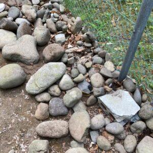 【札幌市南区】庭石の回収・処分ご依頼 お客様の声