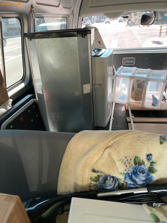 【札幌市白石区】冷蔵庫等の回収と縦型洗濯機クリーニングご依頼